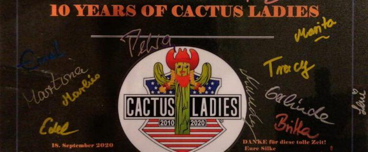 <strong>10 JAHRE CACTUS-LADIES UND KEIN BISSCHEN LEISE!!!!!</strong>