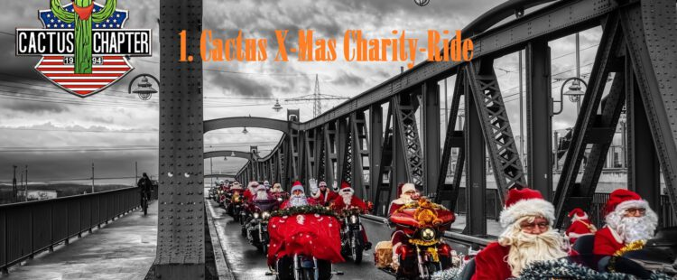 02.11.2020 1. CACTUS X-MAS CHARITY RIDE – Flyer und Poster